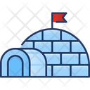 Igloo House Winter Icon
