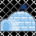 Igloo House Snow Icon