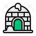 Igloo Winter Christmas Icon