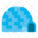 Igloo House Eskimo Icon