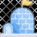 Igloo Bulding Ice Icon