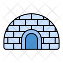 Igloo Building Eskimo Icon