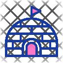 Igloo Winter House Icon