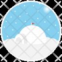 Igloo Eskimo Winter Icon