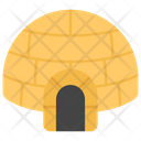 Snow House Igloo Snow Hut Icon