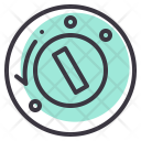 Ignition Key Lock Icon