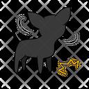Refuse Flash Dog Icon