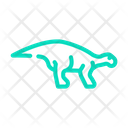 Iguanodon Dinosaur Color Icon