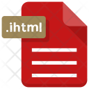 Ihtml File Document Icon