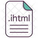 Ihtml Word File Icon