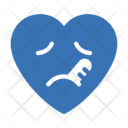 Facewiththermometer Ill Heart Icon