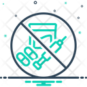 Illegal Banned Criminal Icon