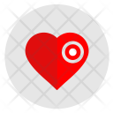 Illness Heart Dot Icon