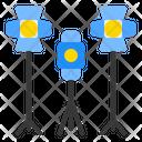 Illumination Light Spotlight Icon