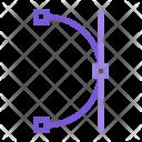 Illustration Concept Bezier Icon
