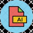 Illustrator File Adobe Icon