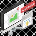 Illustrator Graphic Tool Artwork Icon