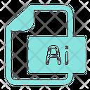 Illustrator Ai File Format Icon