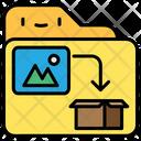 Image Storage Shipping Icon