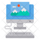 Image Computer Photo Icon