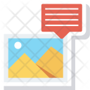 Image Chat Comment Icon