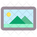 Image Interface Landscape Icon