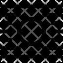 Image Wrap Center Icon