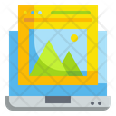 Image Photo Computer Icon