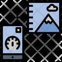 Barometer Sensor Altitude Icon