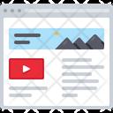 Image And Video Description Image Video Icon