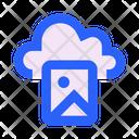 Cloud Photo Snapshot Icon