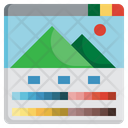 Image Correction Color Correction Edit Tools Levels Interface Icon