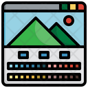 Image Correction Color Correction Edit Tools Icon