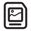 Data Image File Document Icon
