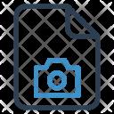 Camera File Sheet Icon