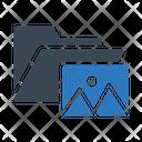 Folder Files Picture Icon