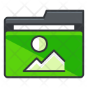 Image Folder Collection Icon