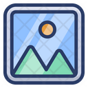 Image Gallery Landscape Photo Icon