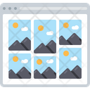 Image Grid Layout Grid Layout Icon