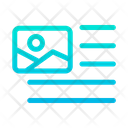 Image Left Align Icon