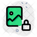 Image Lock Protected Image Secure Image Icon