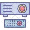 Image Projector Optical Device Presentation Icon
