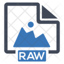 Image Raw File Icon