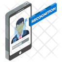 Image Recognition Facial Recognition Face Authentication Icon