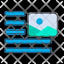 Image Right Align Icon