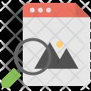 Image Search Photo Icon