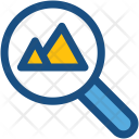 Image Search Magnifier Icon