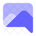 Image-sending-via-chat Icon