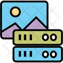 Image Server Data Server Icon