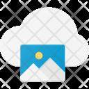 Image synchronize through cloud Icon